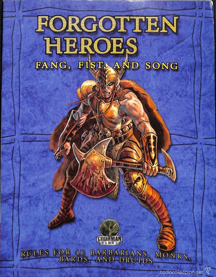 FORGOTTEN HEROES FANG, FIST, AND SONG (Juguetes - Rol y Estrategia - Otros)