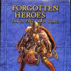 Juegos Antiguos: FORGOTTEN HEROES FANG, FIST, AND SONG. Lote 59179350