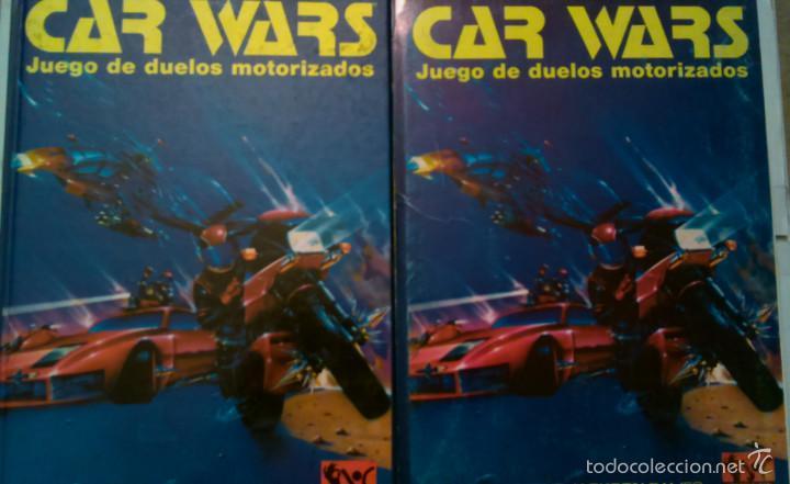 CAR WARS. JUEGO DE DUELOS MOTORIZADOS, JOC INTERNACIONAL (Juguetes - Rol y Estrategia - Juegos de Rol)