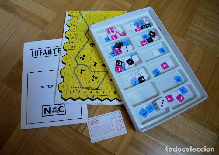 Juegos Antiguos: JUEGO NAC - INFANTERIA - AÑO 1987 - ESTADO PERFECTO - Foto 2 - 61889808