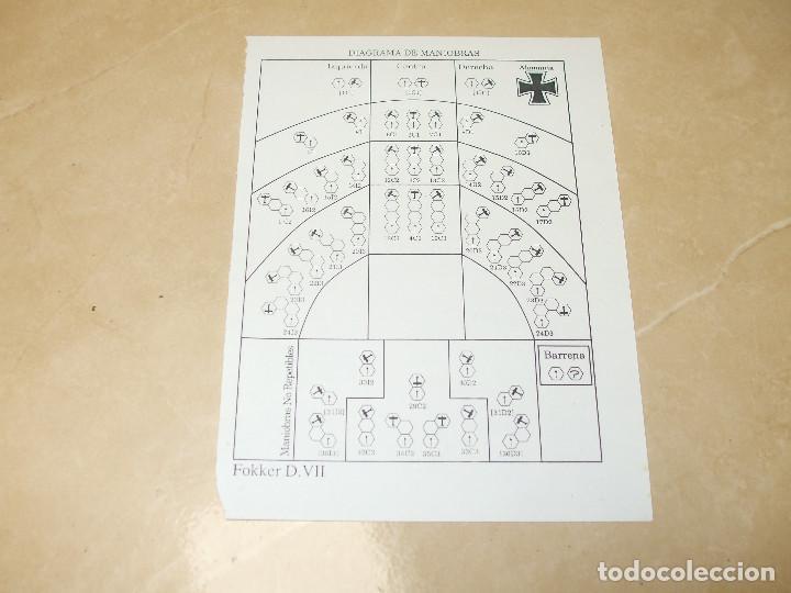 Juegos Antiguos: JUEGO DE MESA Y ESTRATEGIA: BLUE MAX DE DISEÑOS ORBITALES - Foto 8 - 62987084