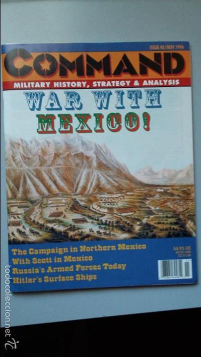 Juegos Antiguos: Wargame revista Command: Buena vista y Moscow burning - Foto 3 - 49196616