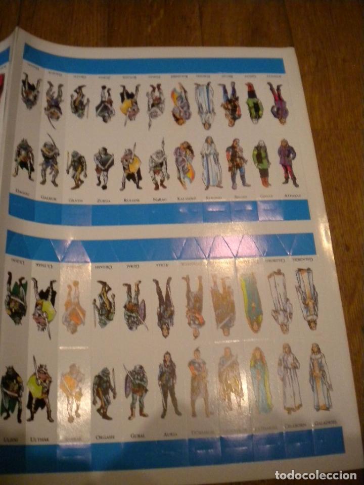 Juegos Antiguos: el señor de los anillos juego de aventuras basico / dos mapas y personajes / tolkien - Foto 5 - 68057453