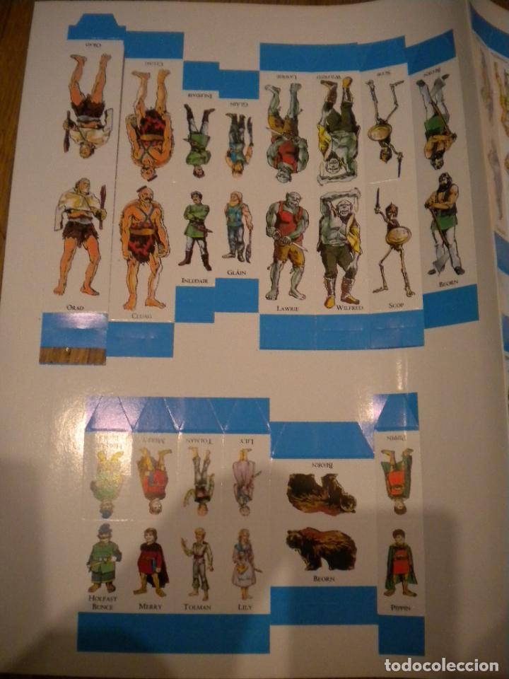 Juegos Antiguos: el señor de los anillos juego de aventuras basico / dos mapas y personajes / tolkien - Foto 7 - 68057453