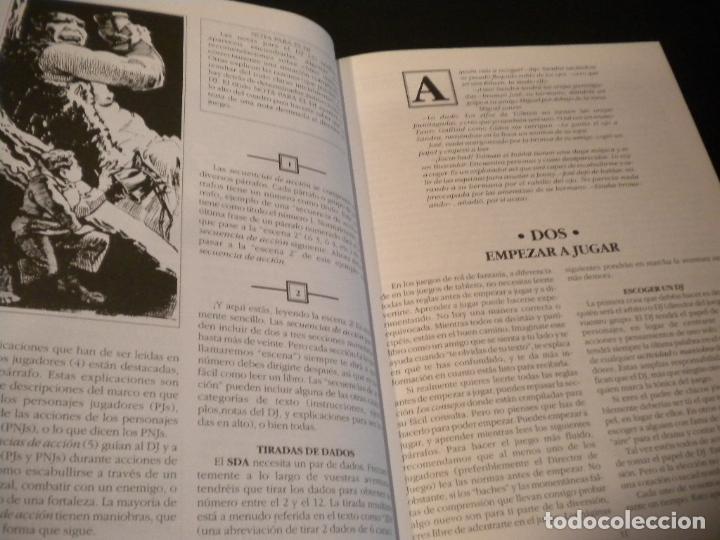 Juegos Antiguos: el señor de los anillos juego de aventuras basico / dos mapas y personajes / tolkien - Foto 11 - 68057453