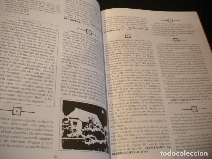 Juegos Antiguos: el señor de los anillos juego de aventuras basico / dos mapas y personajes / tolkien - Foto 12 - 68057453