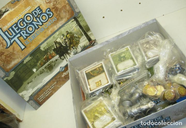 Juegos Antiguos: Juego de mesa, rol, cartas,JUEGO DE TRONOS, de EDGE,en castellano - Foto 2 - 68521525
