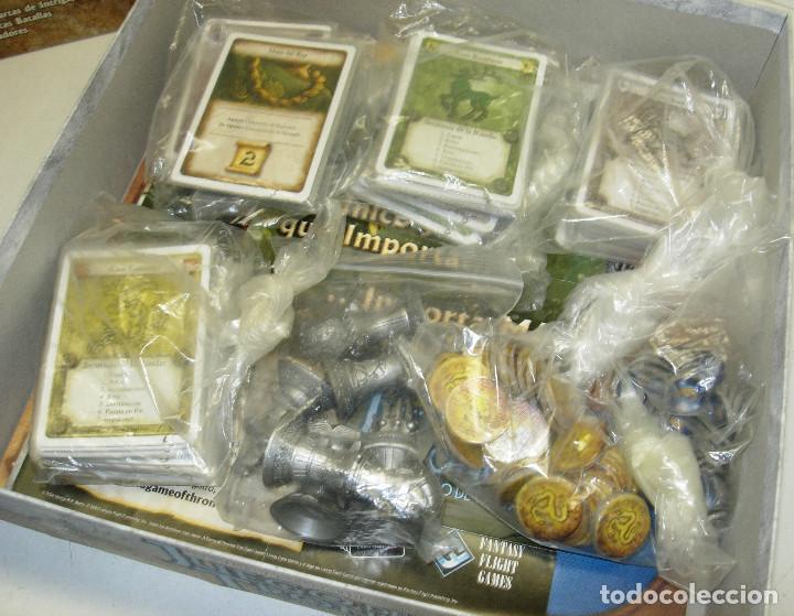 Juegos Antiguos: Juego de mesa, rol, cartas,JUEGO DE TRONOS, de EDGE,en castellano - Foto 3 - 68521525