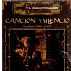 Juegos Antiguos: DUNGEONS DRAGONS - CANCION Y SILENCIO - DEVIR. Lote 208443297