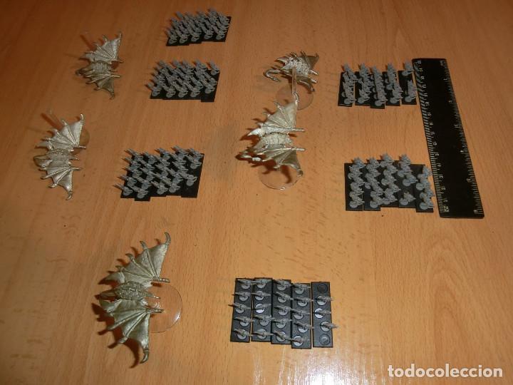 Juegos Antiguos: harridan tiranido, epic 40k, 1 harridan y 5 peanas de gargolas - Foto 4 - 69955365