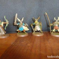 Juegos Antiguos: HEROSCAPE LOTE GUERREROS VIKINGOS. Lote 70497469
