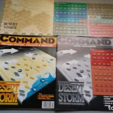 Juegos Antiguos: WARGAME DESERT STORM. COMMAND MAGAZINE Nº 13. Lote 71471211