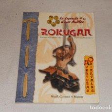 Juegos Antiguos: ROKUGAN - AVENTURAS ORIENTALES - LA LEYENDA DE LOS CINCO ANILLOS FACTORIA DE IDEAS JUEGO DE ROL. Lote 71692147