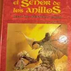 Juegos Antiguos: EL SEÑOR DE LOS ANILLOS (JUEGO DE AVENTURAS BASICO). Lote 72043359