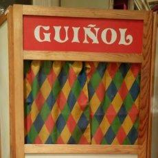Juegos Antiguos: TEATRO O TEATRILLO INFANTIL DEL GUIÑOL.FONTSERE COMA.TORELLO.BARCELONA.VINTAGE.. Lote 73033299