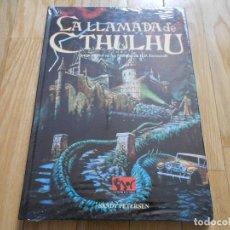 Juegos Antiguos: LA LLAMADA DE CTHULHU - BÁSICO - JUEGO DE ROL - JOC INTERNACIONAL - PRECINTADO. Lote 73431279