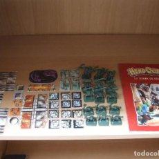 Juegos Antiguos: HEROQUEST DE MB, TORRE DE KELLAR EN CASTELLANO (SIN CAJA Y FALTAN 2 ORCOS ¡¡¡OJO!!!). Lote 74753283