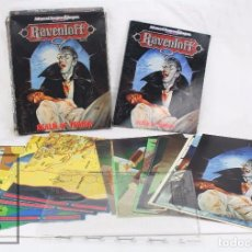 Juegos Antiguos: JUEGO DE ROL - RAVENLOFT. REALM OF TERROR. ADVANCED DUNGEONS & DRAGONS / AD&D - INGLÉS. Lote 74857191