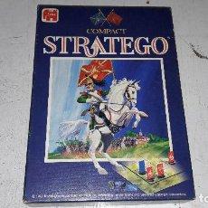 Juegos Antiguos: STRATEGO COMPACT 1992 JUMBO MUY BUEN ESTADO COMPLETO. Lote 75155691