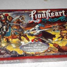 Juegos Antiguos: LIONHEART DE PARKER BUEN ESTADO COMPLETO. Lote 76679683