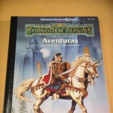 Juegos Antiguos: DUNGEONS & DRAGONS, FORGOTTEN REALMS, AVENTURAS, ED. ZINCO, AÑO 1994, JUEGO DE ROL. Z C7. Lote 77895965