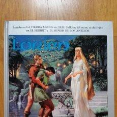 Juegos Antiguos: LORIEN Y LAS ESTANCIAS DE LOS HERREROS ELFOS. EL SEÑOR DE LOS ANILLOS. JUEGO DE ROL. Lote 78282077