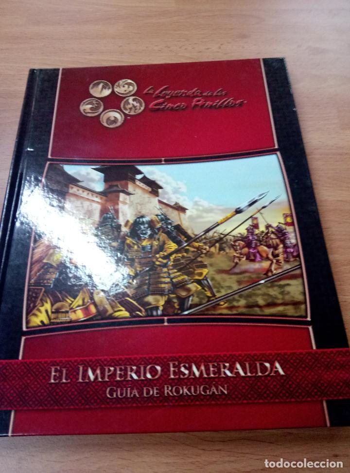 LA LEYENDA DE LOS CINCO ANILLOS JUEGO DE ROL EL IMPERIO ESMERALDA (Juguetes - Rol y Estrategia - Juegos de Rol)