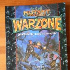 Juegos Antiguos: WARZONE - MUTANT CHRONICLES - UN VERTIGINOSO JUEGO DE BATALLAS CON MINIATURAS -LEER DESCRIPCION (J2). Lote 79861721
