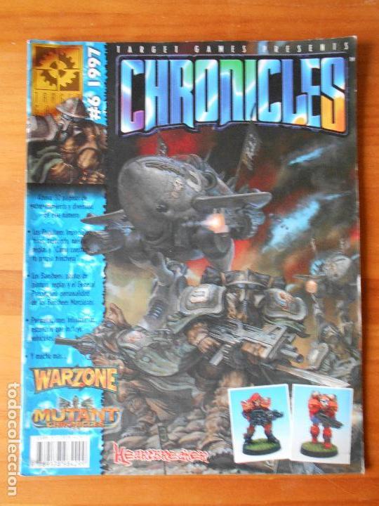 CHRONICLES Nº 6 - 1997 - WARZONE - MUTANT CHRONICLES (H2) (Juguetes - Rol y Estrategia - Juegos de Rol)