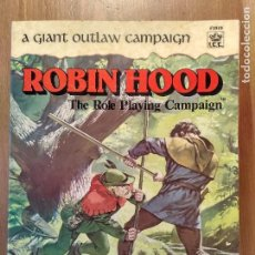 Juegos Antiguos: ROBIN HOOD THE ROLE PLAYING CAMPAIGN UNICO EN INGLES. Lote 80366393
