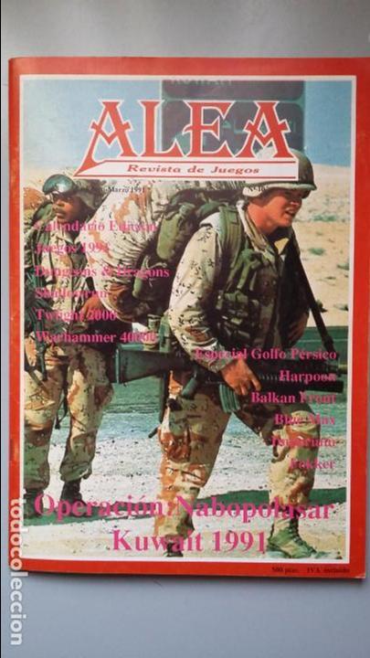 WARGAME OP. NABOPOLASAR, KUWAIT 1991, ALEA Nº 10 (Juguetes - Rol y Estrategia - Otros)