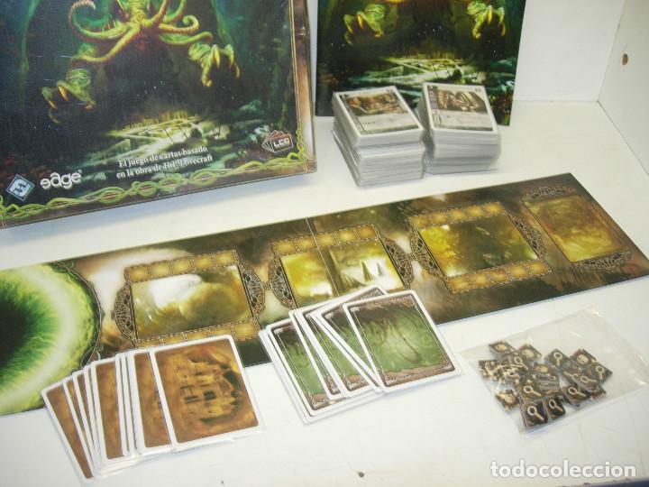 Juegos Antiguos: El juego de cartas cards CALL OF CTHULHU , LA LLAMADA DE CTHULHU, EDGE 2009 - Foto 2 - 81124448