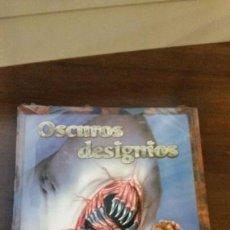 Juegos Antiguos: OSCUROS DESIGNIOS - LA LLAMADA DE CTHULHU D100 - LOVECRAFT - ROL. Lote 134783106
