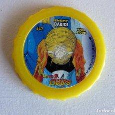 Juegos Antiguos: DRAGON BALL Z CHAPS Nº 47 - ENEMY BABIDI. Lote 82293028
