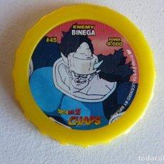 Juegos Antiguos: DRAGON BALL Z CHAPS Nº 45 - ENEMY BINEGA. Lote 82293112