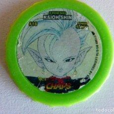 Juegos Antiguos: DRAGON BALL Z CHAPS Nº 16 - FRIEND KAIOH SHIN. Lote 82293196