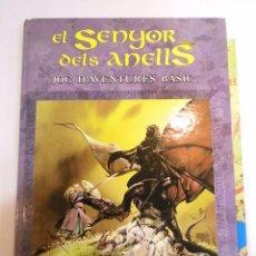Juegos Antiguos: EL SENYOR DELS ANELLS – JOC D'AVENTURES BASIC - SEP 1994. Lote 82757480