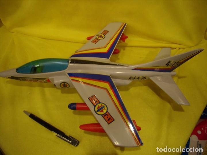 Juegos Antiguos: Avión Juguetes 33 Dornier Alpha Jet de Fricción, años 70, Nuevo sin usar - Foto 2 - 83368928