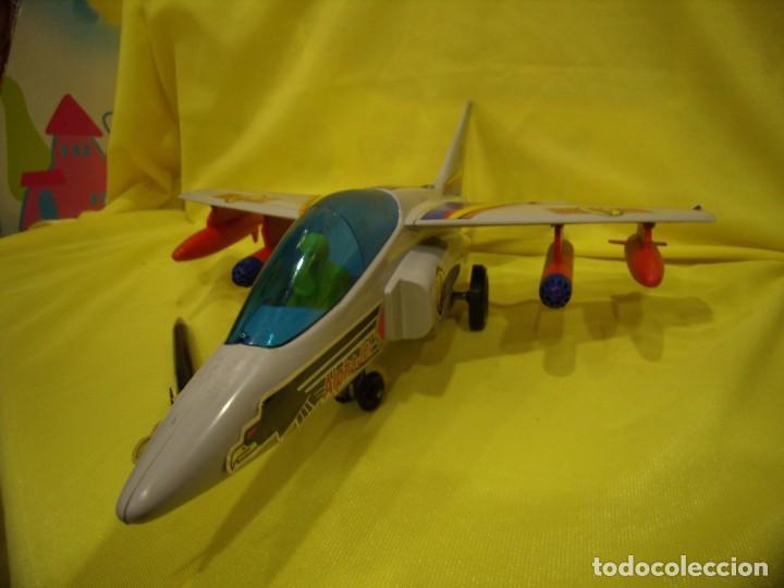 Juegos Antiguos: Avión Juguetes 33 Dornier Alpha Jet de Fricción, años 70, Nuevo sin usar - Foto 3 - 83368928
