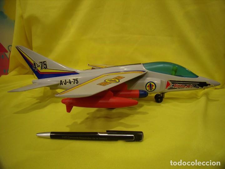 Juegos Antiguos: Avión Juguetes 33 Dornier Alpha Jet de Fricción, años 70, Nuevo sin usar - Foto 4 - 83368928