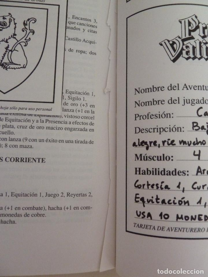 Juegos Antiguos: PRINCIPE VALIENTE - JUEGO DE ROL NARRATIVO - Foto 3 - 84500768