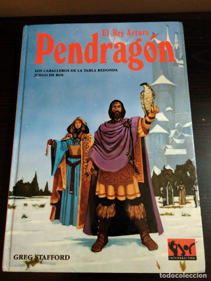 Juegos Antiguos: PENDRAGON EL REY ARTURO-GREG STRAFFO-JUEGO DE ROL DE LOS CABALLEROS DE LA TABLA REDONDA. - Foto 2 - 84832812