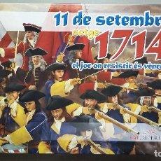 Juegos Antiguos: WARGAME 11 DE SETEMBRE. SETGE 1714. Lote 85513060