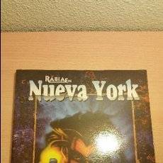 Juegos Antiguos: RABIA EN NUEVA YORK HOMBRE LOBO APOCALIPSIS - VAMPIRO MASCARADA - MUNDO DE TINIEBLAS - ROL. Lote 85928172