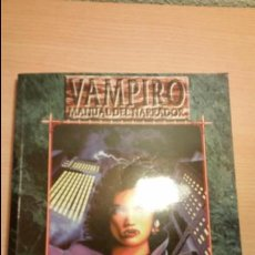 Juegos Antiguos: GUIA MANUAL DEL NARRADOR DE VAMPIRO MASCARADA - VAMPIRO REQUIEM - MUNDO DE TINIEBLAS - ROL. Lote 85942864