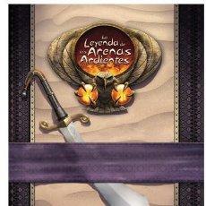 Juegos Antiguos: LA LEYENDA DE LAS ARENAS ARDIENTES - LEYENDA DE LOS 5 ANILLOS - LEYENDA DE LOS CINCO ANILLOS - ROL. Lote 86157144