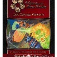 Juegos Antiguos: LOS CUATRO VIENTOS LEYENDA DE LOS CINCO ANILLOS - LEYENDA DE LOS 5 ANILLOS - L5A - SAMURAIS - ROL. Lote 86157704