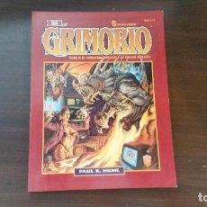 Juegos Antiguos: EL GRIMORIO SHADOWRUN - CYBERPUNK - ABERRANT - MUNDO DE TINIEBLAS - ROL. Lote 86204600