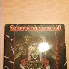 Juegos Antiguos: SECRETOS DEL NARRADOR DE VAMPIRO EDAD OSCURA - MUNDO DE TINIEBLAS - VAMPIRO MASCARADA - ROL. Lote 86279576