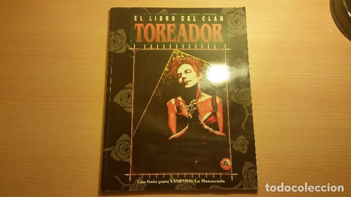 LIBRO DE CLAN TOREADOR DE VAMPIRO MASCARADA - VAMPIRO EDAD OSCURA - MUNDO DE TINIEBLAS - ROL (Juguetes - Rol y Estrategia - Juegos de Rol)